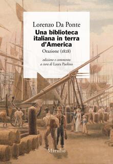 Festivalpatudocanario.es Una biblioteca italiana in terra d'America. Orazione (1828) Image