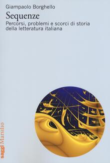 Sequenze. Percorsi, problemi e scorci di storia della letteratura italiana.pdf