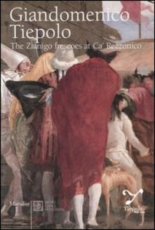Giandomenico Tiepolo. The Zianigo frescoes at Ca' Rezzonico - Adriano Mariuz,Filippo Pedrocco - copertina