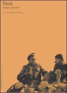 Foto Cover di Paisà. Analisi del film, Libro di  edito da Marsilio