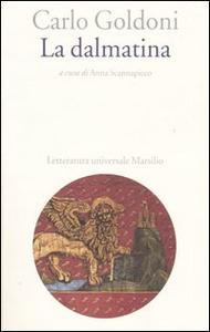 Libro La dalmatina Carlo Goldoni
