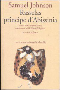 Foto Cover di Rasselas principe d'Abissinia. Testo inglese a fronte, Libro di Samuel Johnson, edito da Marsilio