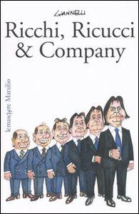 Libro Ricchi, Ricucci & company Emilio Giannelli