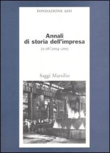 Nicocaradonna.it Annali di storia dell'impresa vol. 15-16 (2004-2005) Image