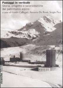 Libro Paesaggi in verticale. Storia, progetto e valorizzazione del patrimonio alpino. Ediz. illustrata