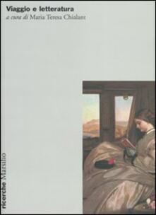 Viaggio e letteratura - copertina