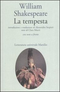 Libro La tempesta. Testo inglese a fronte William Shakespeare