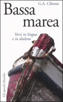 Promoartpalermo.it Bassa marea. Versi in lingua e in dialetto Image