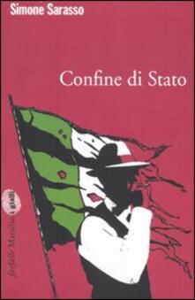 Confine di stato - Simone Sarasso - copertina