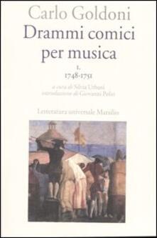 Daddyswing.es Drammi comici per musica. Vol. 1: 1748-1751. Image