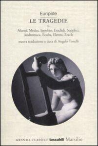 Libro Le tragedie Euripide