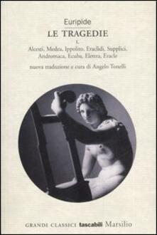 Le tragedie - Euripide - copertina