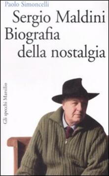 Antondemarirreguera.es Sergio Maldini. Biografia della nostalgia Image