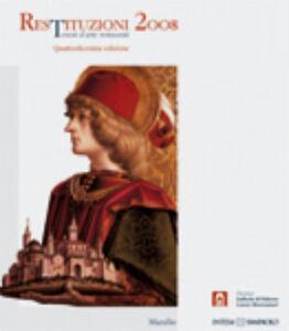 Libro Restituzioni 2008