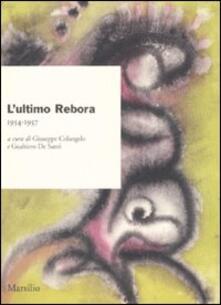 Equilibrifestival.it L' ultimo Rebora. 1954-1957 Image