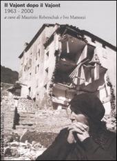 Copertina  Il Vajont dopo il Vajont : 1963-2000