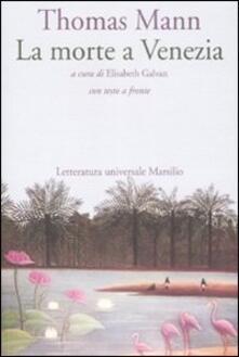 La morte a Venezia. Testo tedesco a fronte - Thomas Mann - copertina
