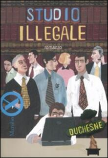 Studio illegale - Federico Baccomo - copertina