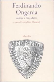 Antondemarirreguera.es Ferdinando Ongania editore a San Marco Image