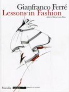 Lezioni di moda. Ediz. inglese