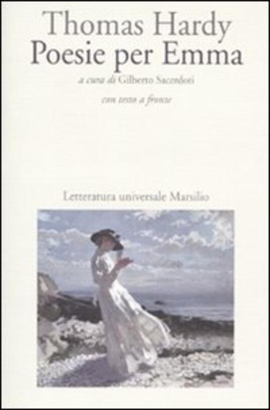 Poesie per Emma. Testo inglese a fronte - Thomas Hardy - copertina
