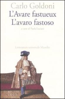 Amatigota.it L' Avare fastueux-L'avaro fastoso. Ediz. bilingue Image