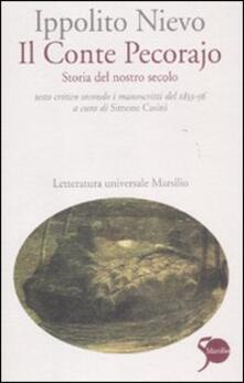 Parcoarenas.it Il Conte Pecorajo. Storia del nostro secolo. Testo critico secondo i manoscritti del 1855-56 Image