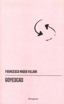 Goyescas - Francesca Maria Villani - copertina