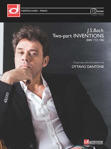 Winniearcher.com Two-part inventions BWV 772-786. Fingerings and articulations by Ottavio Dantone. Ediz. italiana e inglese Image