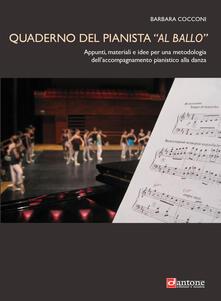 Radiospeed.it Quaderno del pianista «al ballo». Appunti, materiali e idee per una metodologia dell'accompagnamento pianistico alla danza Image