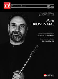 Aboutschuster.de Flutes trio sonatas. Ediz. italiana e inglese Image