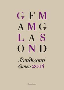 Rendiconti. Cuneo 2018 - copertina