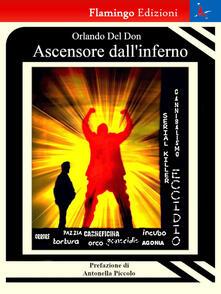 Ascensore dall'inferno - Orlando Del Don - copertina