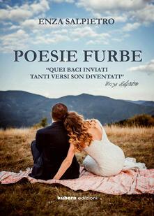 Poesie furbe - Enza Salpietro - copertina