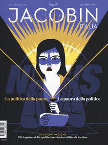 Premioquesti.it Jacobin Italia (2019). Vol. 6: politica della paura. La paura della politica, La. Image