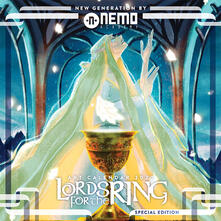 Camfeed.it Lords for the Ring. Art calendar 2020. Ediz. variant Blue Mirror Image