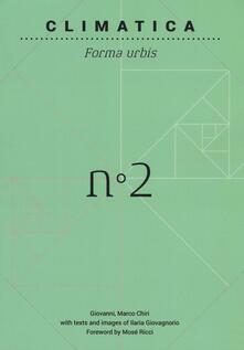 Climatica. Ediz. inglese - Gianmarco Chiri - copertina