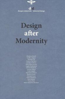 Diid disegno industriale. Ediz. inglese (2018). Vol. 64: Design after modernity. - copertina