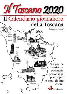 Daddyswing.es Il Toscano 2020 Il calendario giornaliero della Toscana Image
