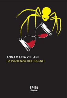 La pazienza del ragno - Annamaria Villani - copertina