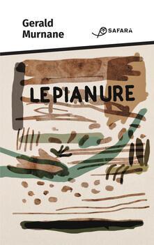 Le pianure - Gerald Murnane - copertina