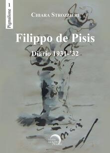 Festivalshakespeare.it Filippo De Pisis. Diario 1931-'32 Image