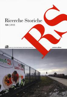 Ricerche storiche (2018). Vol. 126 - copertina