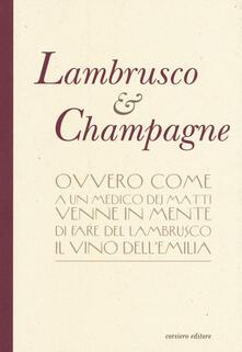 Lambrusco & champagne - copertina