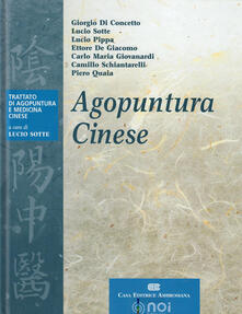 Agopuntura cinese - copertina
