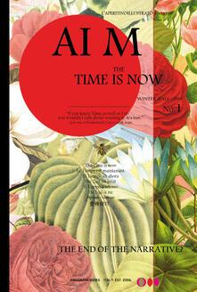 AI M. The time is now. L'aperitivo illustrato. Ediz. inglese (2019). Vol. 1 - copertina