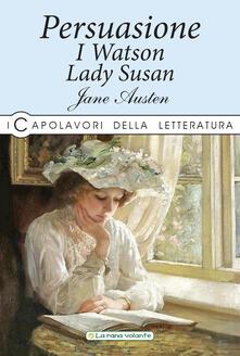 Persuasione-I Watson-Lady Susan - Jane Austen - copertina