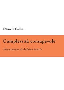 Complessità consapevole - Daniele Callini - copertina