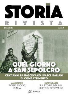 Writersfactory.it Storia Rivista (2019). Vol. 4: Quel giorno a san sepolcro. Cent'anni fa nascevano i fasci italiani di combattimento. Image