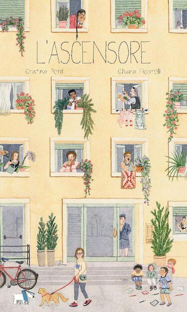 Un giorno, un ascensore. Ediz. a colori - Cristina Petit - Chiara Ficarelli  - - Libro - Pulce - | IBS